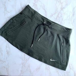 Nike Dri-Fit Olive Green Skort Size Large